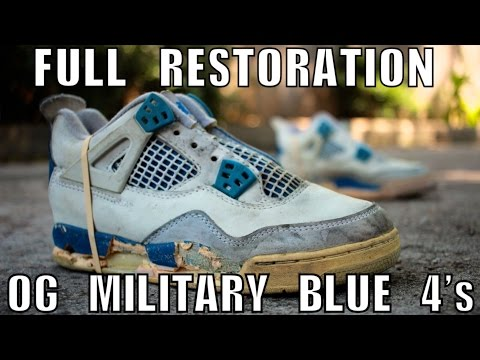 Watch 1989 Military Blue 4 Full Restoration