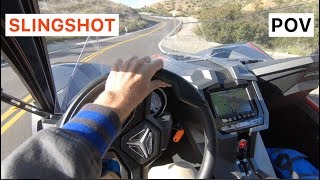 Polaris Slingshot Grand Touring POV Drive by MilesPerHr