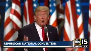 FULL SPEECH: Donald Trump - Republican National Convention - THE NEXT PRESIDENT OF THE USA