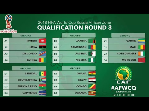 African Qualifiers Full Fixtures / All Matches | 2018 FIFA World Cup Russia™