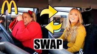 Video Twin Swap DRIVE THRU Prank Challenge MP3, 3GP, MP4, WEBM, AVI, FLV September 2019