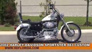 6. Used Harley Davidson Sportster 883 Custom Motorcycles for sale