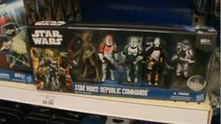 Video Star Wars the Clone Wars 2011 NEW DISPLAY SET ISLE at TOYS R US MP3, 3GP, MP4, WEBM, AVI, FLV Juli 2018