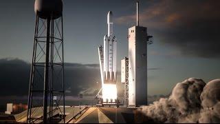 Falcon Heavy quer pousar 3 foguetes juntos!