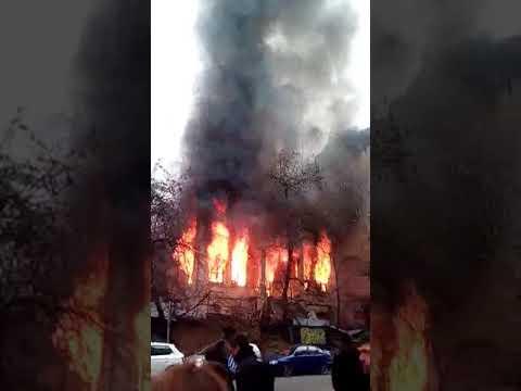 Video - Φασίστες έκαψαν την κατάληψη Libertatia στη Θεσσαλονίκη (Photos)