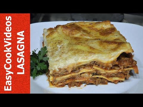 EASY LASAGNA RECIPE - HOW TO MAKE LASAGNA