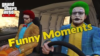 GTA Online Funny Moments! - Sleeping ICE CUBE, Crazy tractor driver, Retarded Jimmy. & More! I Really hope that this video put a smile on your face. If so pl...