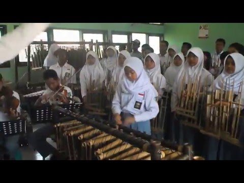 Video ANGKLUNG Plus-  CING CANGKELING Lagu Daerah Jawa Barat ANGKUNG Lat  SMM Bogor