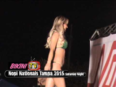 Bikini Contest Preliminary Nopi Nationals 2015 Tampa Nopi Chic Saturday Night
