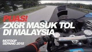 Video #46 Bawa ZX6R Masuk Jalan Tol Malaysia [English Subs] MP3, 3GP, MP4, WEBM, AVI, FLV Januari 2019