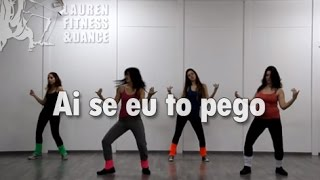 Zumba ® fitness class with Lauren- Ai se eu to pego