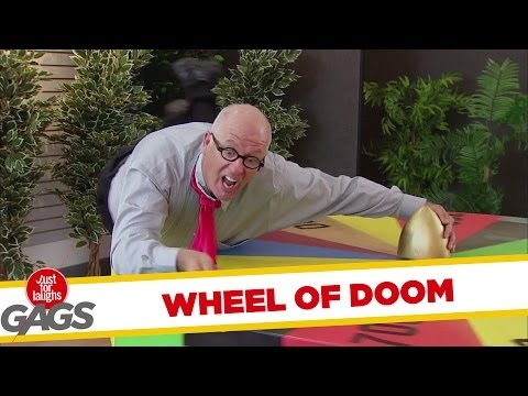 Tie Gets Caught in Wheel of Fortune - Youtube