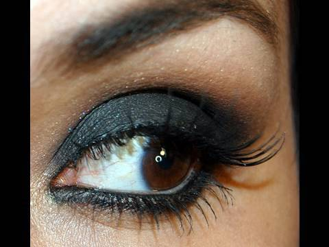 Olhos - Preto bem preto