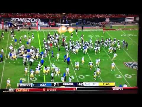Fake Ref Stops UCLA Bruins vs. Arizona Wildcats Game