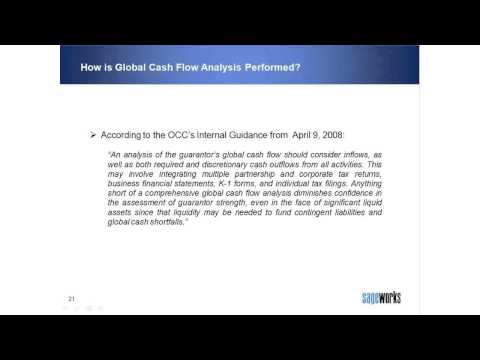 How is Global Cash Flow Analysis Performed?