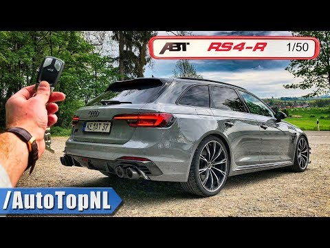 Abt Audi Rs4 R 530hp Review Pov On Autobahn & Road By Autotopnl