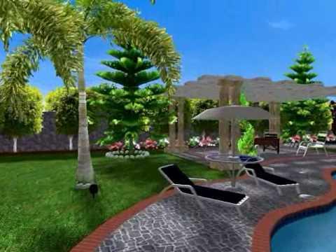 تصميم وتنسيق  الحدائق 5