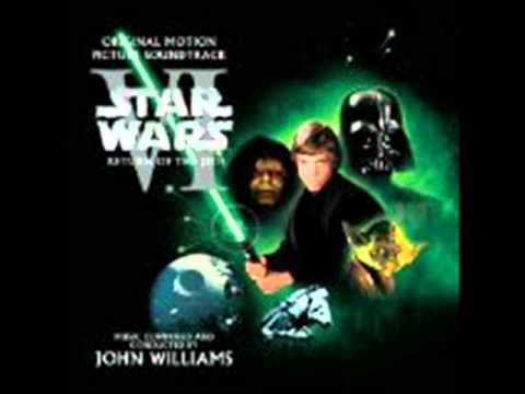 Star Wars VI Return Of The Jedi Soundtrack - Luke And Leia