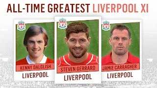 All-Time Greatest Liverpool XI | Gerrard, Barnes, Dalglish!