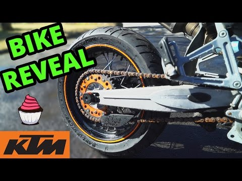 MOTORCYCLE REVEAL!   KTM LC4 640 Supermoto   *NEW BIKE*