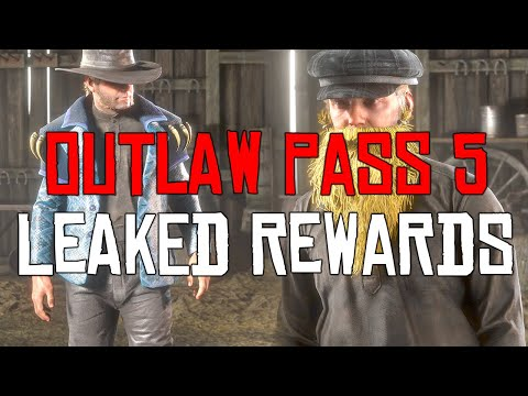 Red Dead Online: All items in the leaked Outlaw Pass 5
