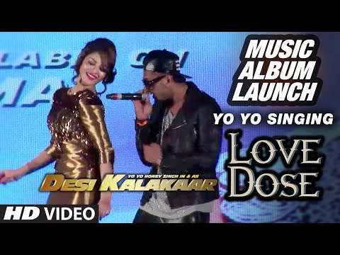 Official: Yo Yo Singing 'Love Dose' at the Music Launch...