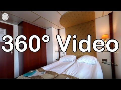 360 Grad Video: Kabine 224, Kat. B - MS Switzerland
