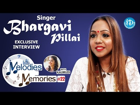 Singer Bhargavi Pillai Exclusive Interview