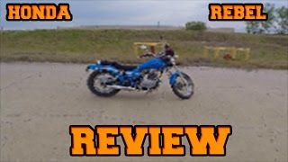 5. HONDA REBEL 250 REVIEW| My Thoughts|PROS + CONS|