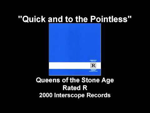 Tekst piosenki Queens of the Stone Age - Quick and to the pointless po polsku