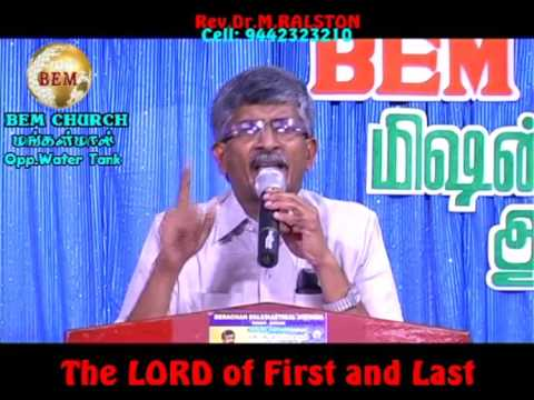 The Lord Of First And Last - part 2