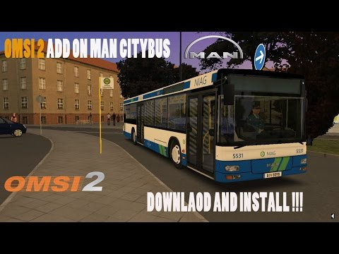[OMSI 2] ADD ON MAN CITYBUS  DOWNLOAD AND INSTALL FREE !!! FINALLY !!!:  ★for the best network youtube➨  http://apply.fullscreen.net/?ref=j-5mRt3vlYF0ccaCShLpZgplease subscribe and like  peace★▬▬▬▬▬▬▬▬▬▬★ஜ۩۞۩ஜ★▬▬▬▬▬▬▬▬▬▬★LINKS :DLC MAN CITYBUS : new link : http://adf.ly/1hLsmtAerosoft Launcher : http://goo.gl/WDZw7F-▬▬▬▬▬▬▬▬▬▬▬▬▬▬▬▬▬▬★SOFTWARE THAT I USE:★action mirilis➨http://goo.gl/tjk5SV★monatge program : ★sony vegas 12➨http://goo.gl/ODt8EY if you enjoy please subscribe and like  peace▬▬▬▬▬▬▬▬▬▬▬▬▬▬▬▬▬▬▬▬لعبة EURO TRUCK SIMULATOR امسك الخط