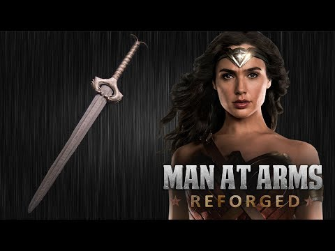 Forging Wonder Woman  s God Killer Sword in Real