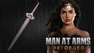 Subscribe! ►►http://brrk.co/AWEsubGet AWE me Gear! ►► http://brrk.co/AWEmeMerchEvery other Monday, our team of blacksmiths and craftsman build some of your favorite weapons, and some weapons that you've never seen before. This week, the guys at Baltimore Knife and Sword take on Wonder Woman's God Killer!Ever wanted to ask the Man At Arms team a question? Now you can! Go to AWEme's Twitter: @awemechannel and use #AskABlacksmith with your question. Matt and Kerry will be answering your questions with a video reply on AWEme's Facebook. Kerry Stagmer - Swordsmith and MachinistMatt Stagmer- Swordsmith / Master Blade GrinderIlya Alekseyev - Bladesmith / Arms MasterLauren Schott - Goldsmith and CastingJohn Mitchell – FabricatorFerenc Gregor – Master CarverBill Collison- Assistant Blade GrinderRick Janney- Hilt MakerCosplayer - Natasha VineyardSeries Creator/Executive Producer - Andy Signorehttp://twitter.com/andysignoreSeries Executive Producer - Brent Lydic Creative Director (AWEMe) - Michael RaineyEpisode Produced and Directed By: Adam Hiner & Brendan KennedySupervising Producer - Phil RogersOffice Production Coordinator – Jon Michael BurgessDirector of Photography - Paulius Kontijevas Baltimore Forge Crew:Story Producer — Dave Cross Production Coordinator – Patricia Parris Runner/PA – Halston Ericson & Ashley Gaither DIT – Christopher Mariles Set Medic – Celeste Bowe 1st AC – Jason Remeikis 2nd AC – Bethany MichalskiGaffer – Steve ScottGrip - Danny Balsamo Swing - Jason Shinsato Post Production: Edited by — Patrick Burke Colorist – Patrick BurkePost Sound – Anthony Vanchure Lead Assistant Editors – Stephen Erdmann & Matt Zimmel Head of Post Production - Michael Gallagher Post Production Supervisor – Matt Zimmel Content Manager - James Harrold