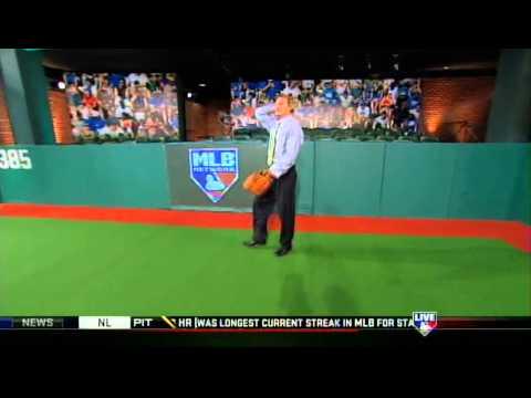 Eric Byrnes robbing Harold Reynolds's home runs on MLB Tonight