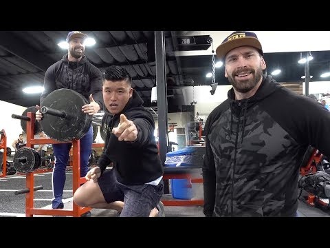 Training With Bradley Martyn At Zoo Culture!