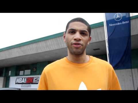 Nicolas Batum Interview at the 2011 adidas EuroCamp