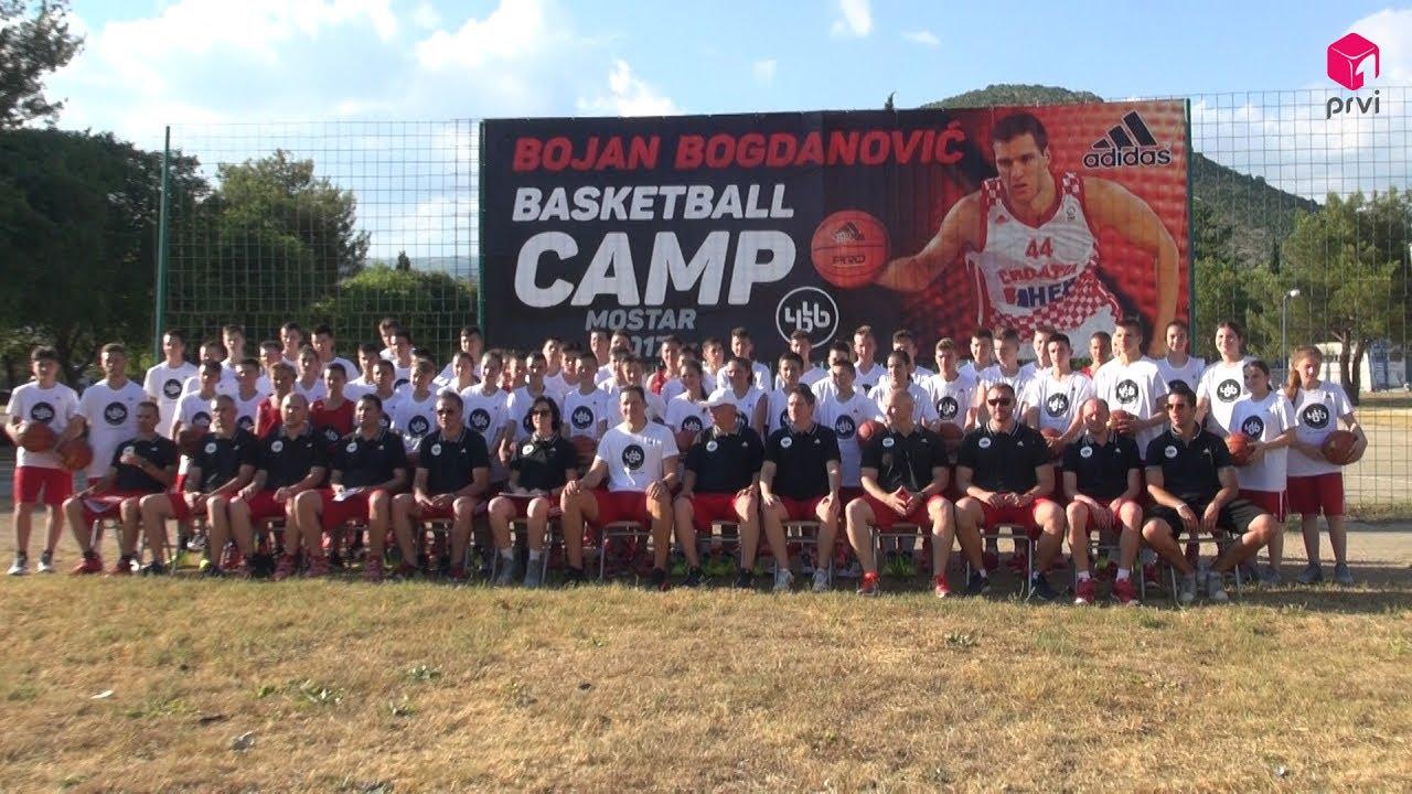 Otvoren ''Bojan Bogdanović basketball camp Mostar 2017''