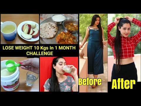 Weight Loss Diet Plan - LOSE 10 KGS IN 1 MONTH | Lose Belly Fat Completely