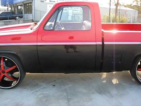 1984 Chevy C10 LOWERED ON 26'S