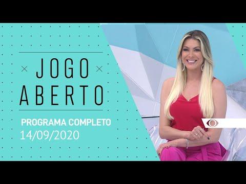 JOGO ABERTO - 14/09/2020 - PROGRAMA COMPLETO