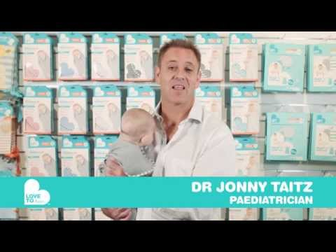 Safe Swaddling Made Simple- with Dr Jonny Taitz, Paediatrician for Love To Dream