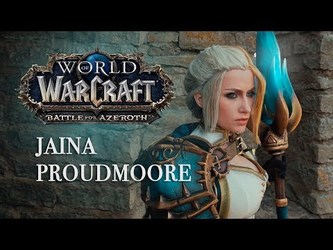 Jaina Proudmoore - Before the Storm