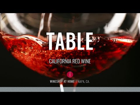 Table Red Wine