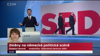 SPD povede do voleb Martin Schulz