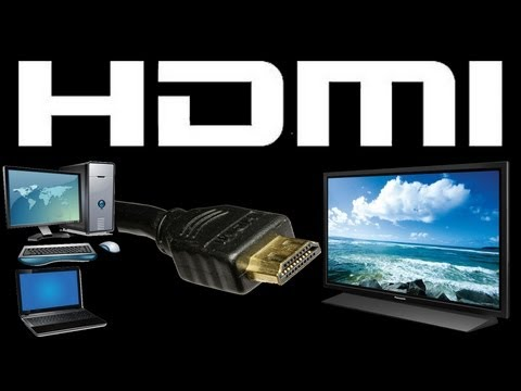 hdmi - This video will show you how to connect your computer to your television using an HDMI cord. You can use a PC to display audio and video on your TV and watch...