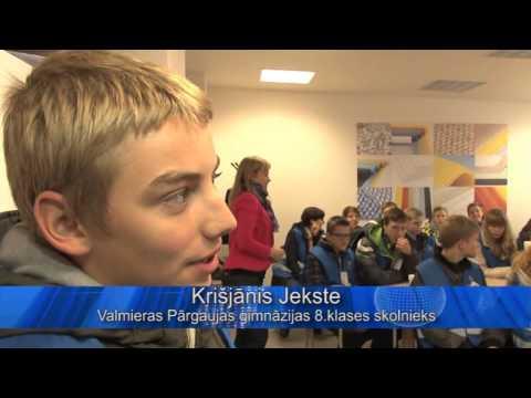 Video: Karjeras nedēļa 2014 Valmierā
