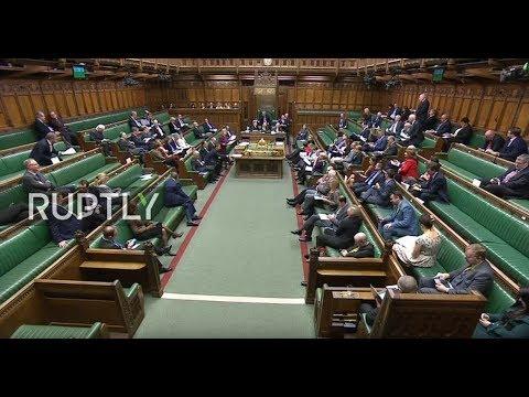 LIVE: UK Parliament debates on Brexit agreement