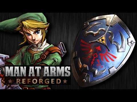 Link's Hylian Shield (Legend of Zelda)  – MAN AT ARMS: REFORGED