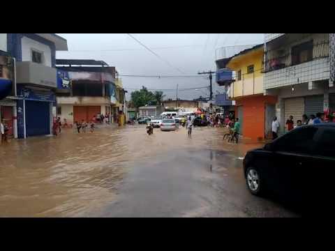 Enchente em barreiros pe